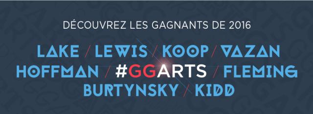 Gagnants GGarts